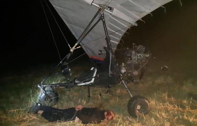 У Словаччині затримали двох українців, що мотодельтапланом переправили через кордон з Закарпаття нелегала