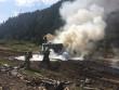На Міжгірщині сталася пожежа. Рятувальники розповіли подробиці