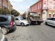 У Мукачеві сталася потрійна аварія