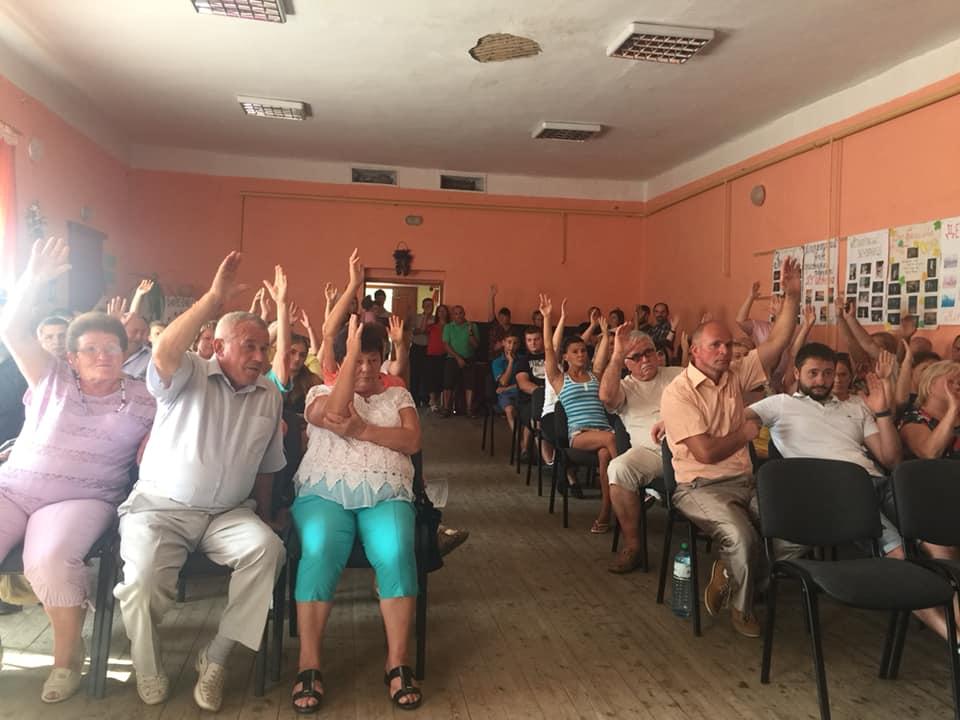 Громада Шенборна висловилась за приєднання до Мукачівської ОТГ