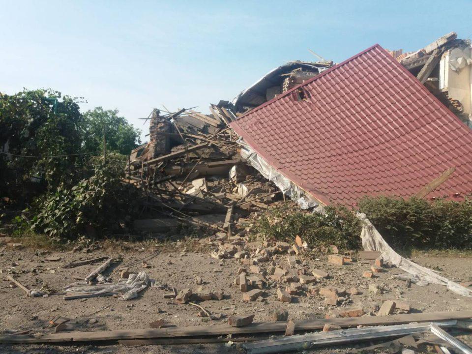 Потужний вибух на Берегівщині: одна людина травмована