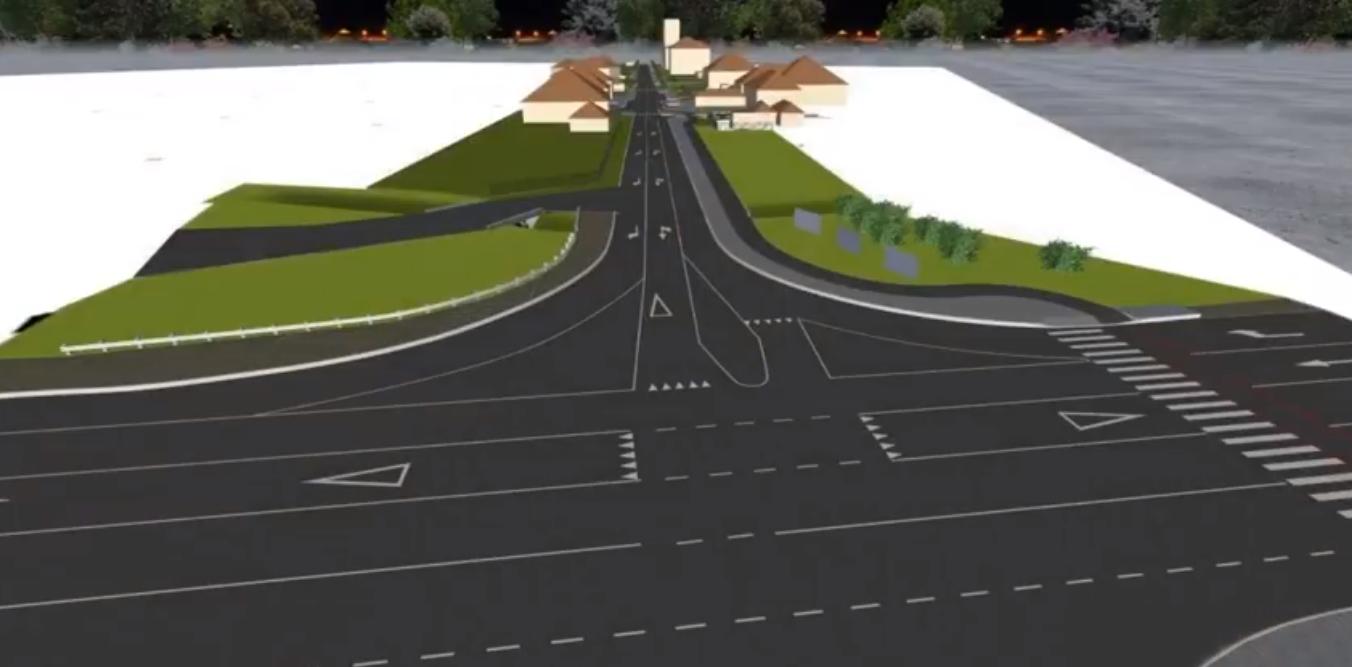 """Вулицю Данила Галицького у Мукачеві хочуть відремонтувати і зробити """"двохполоску"""" при виїзді на трасу"""