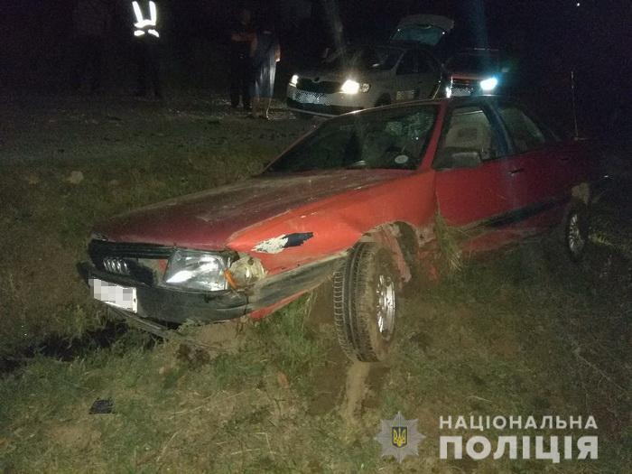 Вночі на Іршавщині сталася аварія