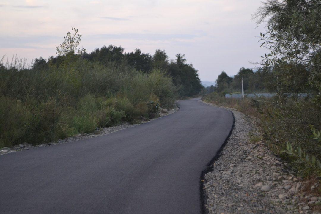 В області відновили дорогу, яка була розмита паводком ще 5 років тому