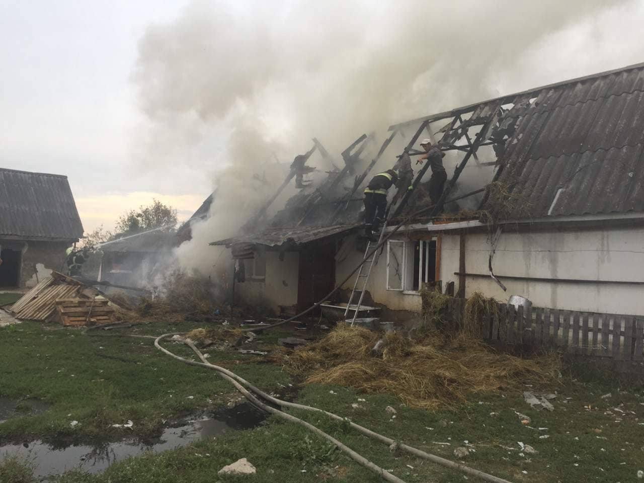 Рятувальники гасили пожежу у житловому будинку