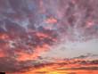Закарпатці спостерігали неймовірний захід сонця