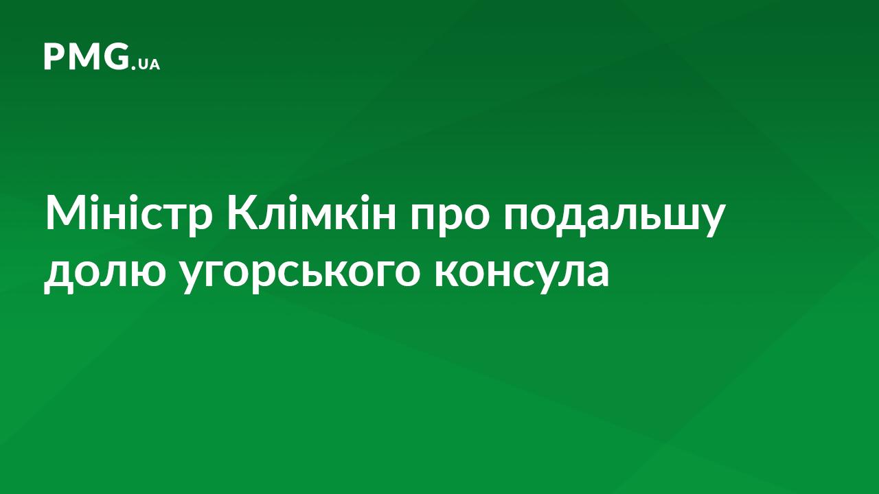 Міністр Клімкін розповів, що чекає на угорського консула у Берегові
