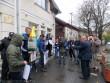 Біля консульства Угорщини в Берегові влаштували мітинг
