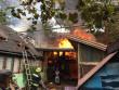 Пожежа на Свалявщині: загорілись гараж та хлів