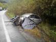 Зіткнулися вантажівка та легковик: постраждало троє людей