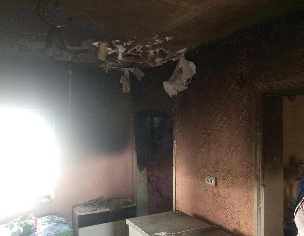 Поки господарів не було вдома, загорівся будинок