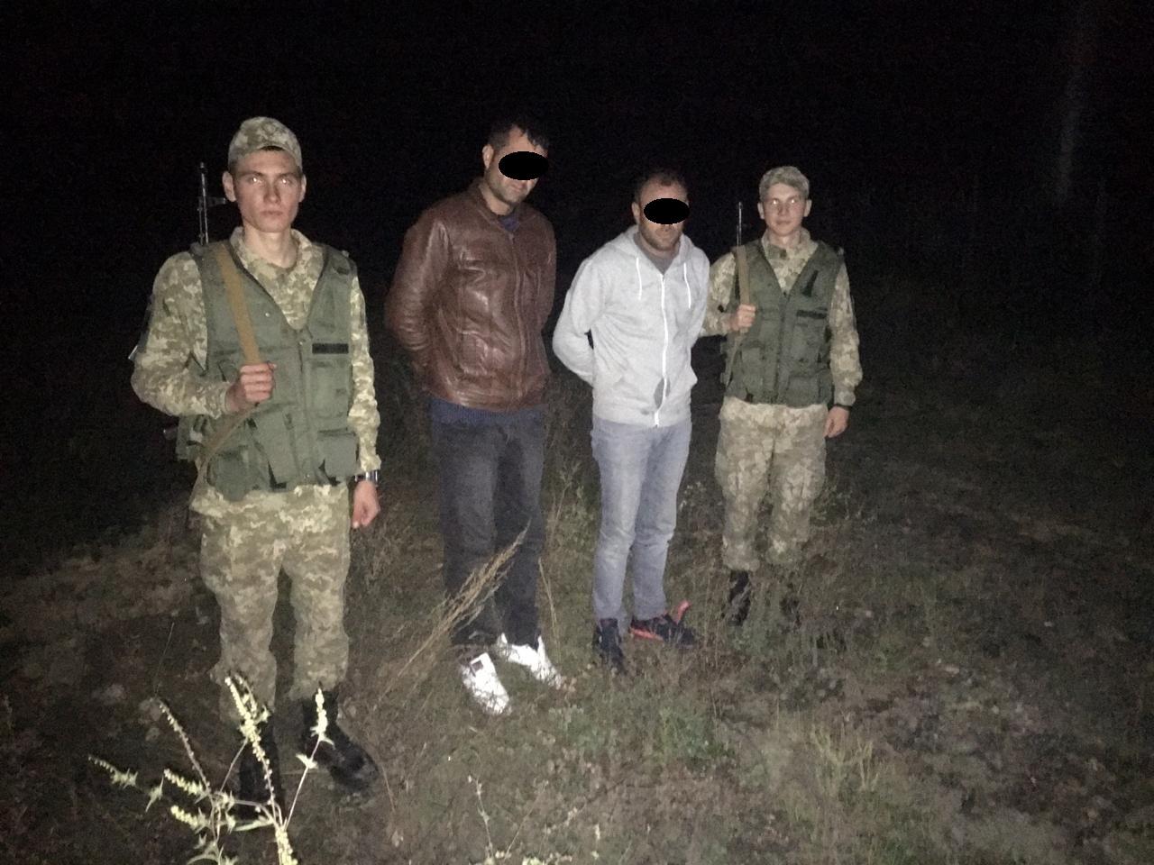 Затримано чоловіків, які намагалися незаконним шляхом потрапити в Європу