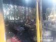 У Мукачеві згоріла маршрутка. Відомо, хто її підпалив