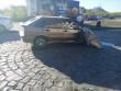 Аварія у Мукачеві: зіткнулися таксі та вантажівка