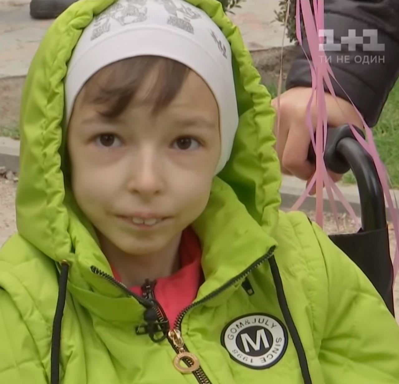 У Києві здійснили мрію невиліковно хворої дівчинки із Закарпаття Насті Волошин