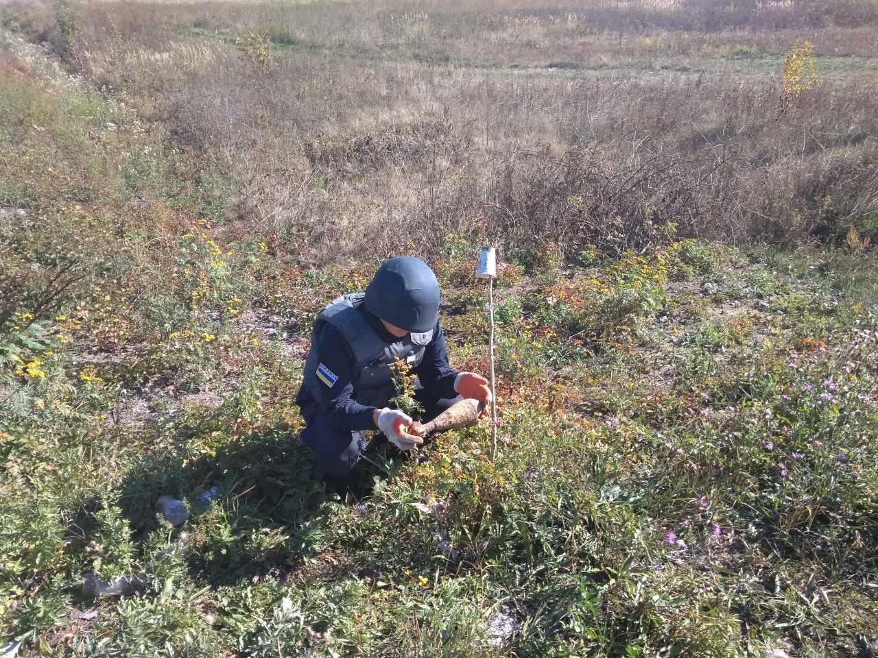 Під час випасання худоби біля села Демичі, що на Ужгородщині, чоловік знайшов міну часів Другої світової війни