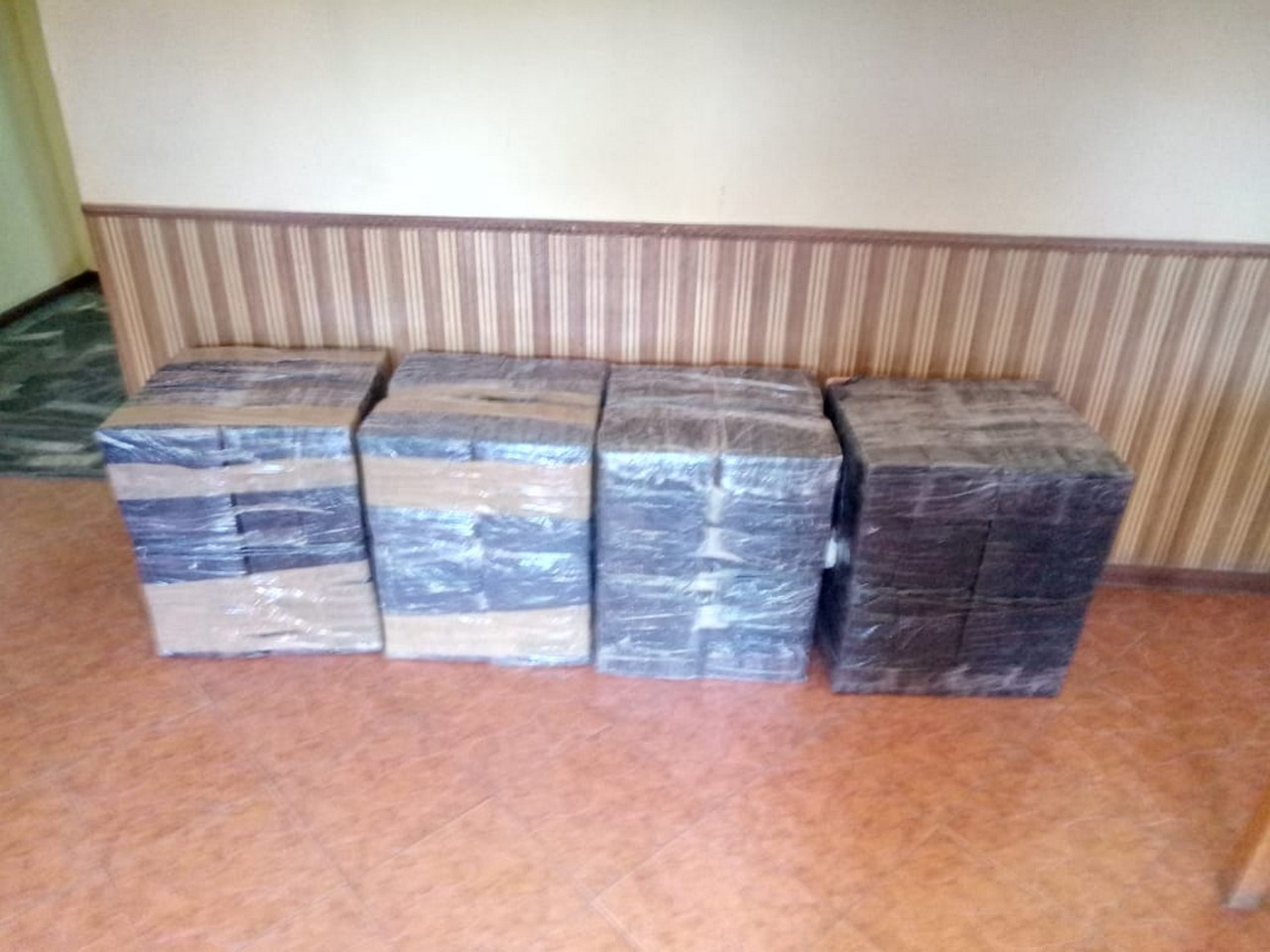 На українсько-румунському кордоні прикордонники припинили спробу переміщення через кордон 4000 пачок сигарет