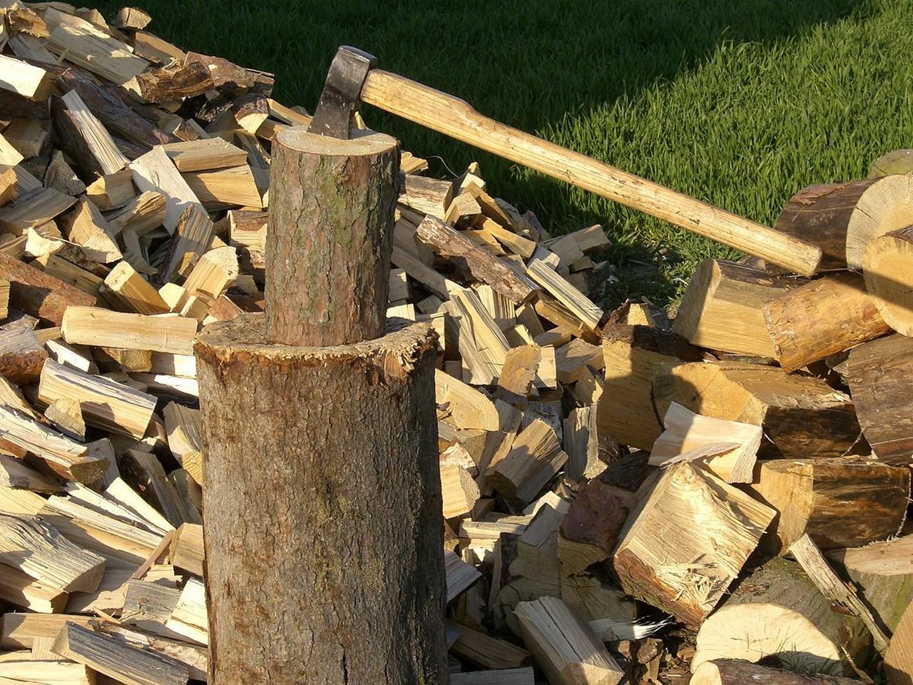 У селі Пилипець Міжгірського району селяни запаслись дровами на зиму