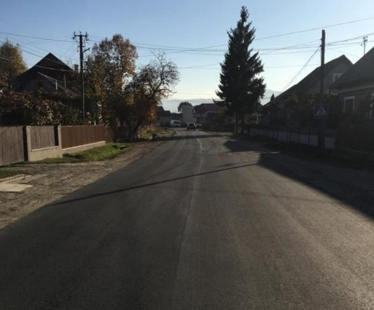 На Тячівщині продовжили ремонт однієї з головних доріг району Тересва – Нересниця