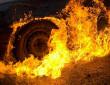 Вчора ввечері загорівся автомобіль