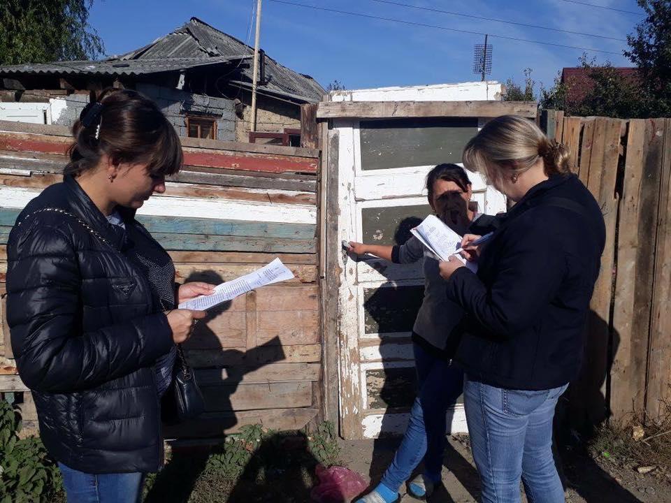 Спеціалісти соцзахисту та поліція навідались у ромський табір Мукачева задля перевірки сімей, чиї діти не ходять до школи