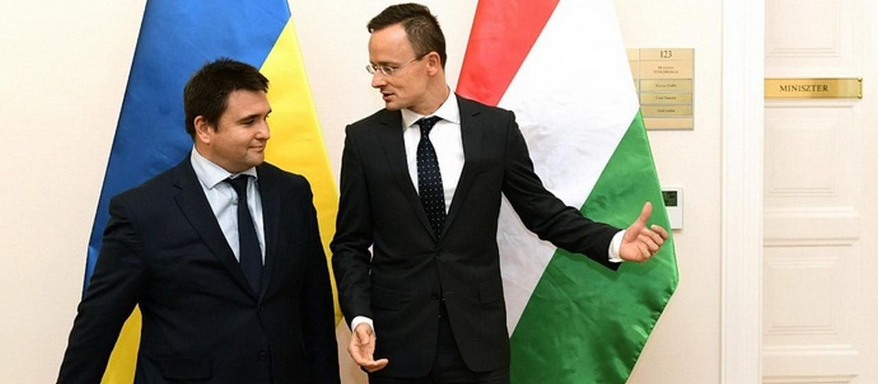Міністри закордонних справ України та Угорщини Павло Клімкін та Петер Сійярто зустрінуться у Варшаві наступного тижня