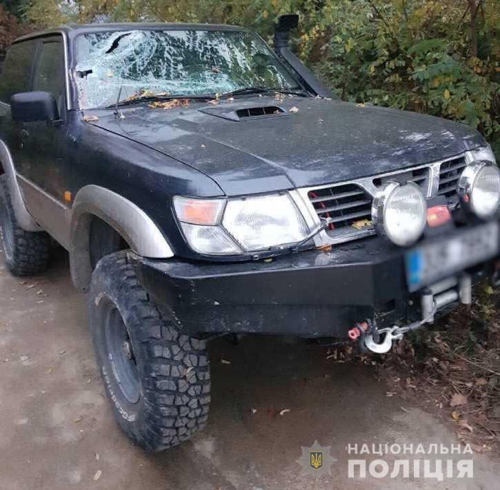 """На Рахівщині під час заїзду в кладовище автомобіль """"Nissan Patrol"""" потапив у смертельну ДТП"""