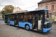 Сьогодні вулицями Ужгорода почали курсувати нові автобуси