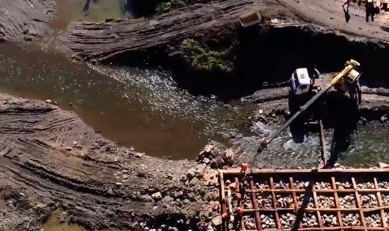 """Нацпарк """"Синевир"""" взявся за відновлення зруйнованого паводком музею лісосплаву"""