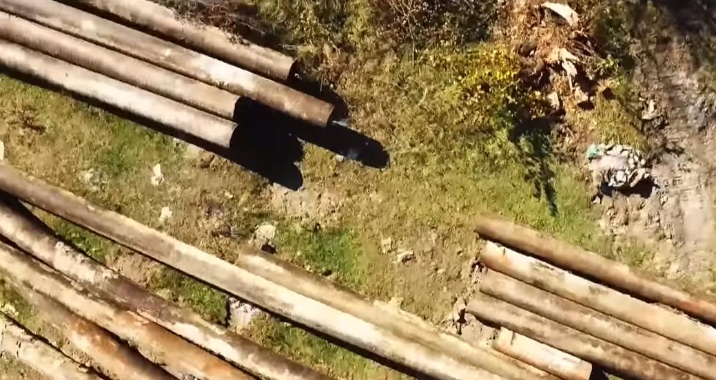 На Закарпатті розкрадають продуктопровід Грозний-Армавір-Трудова і продають труби на залізо