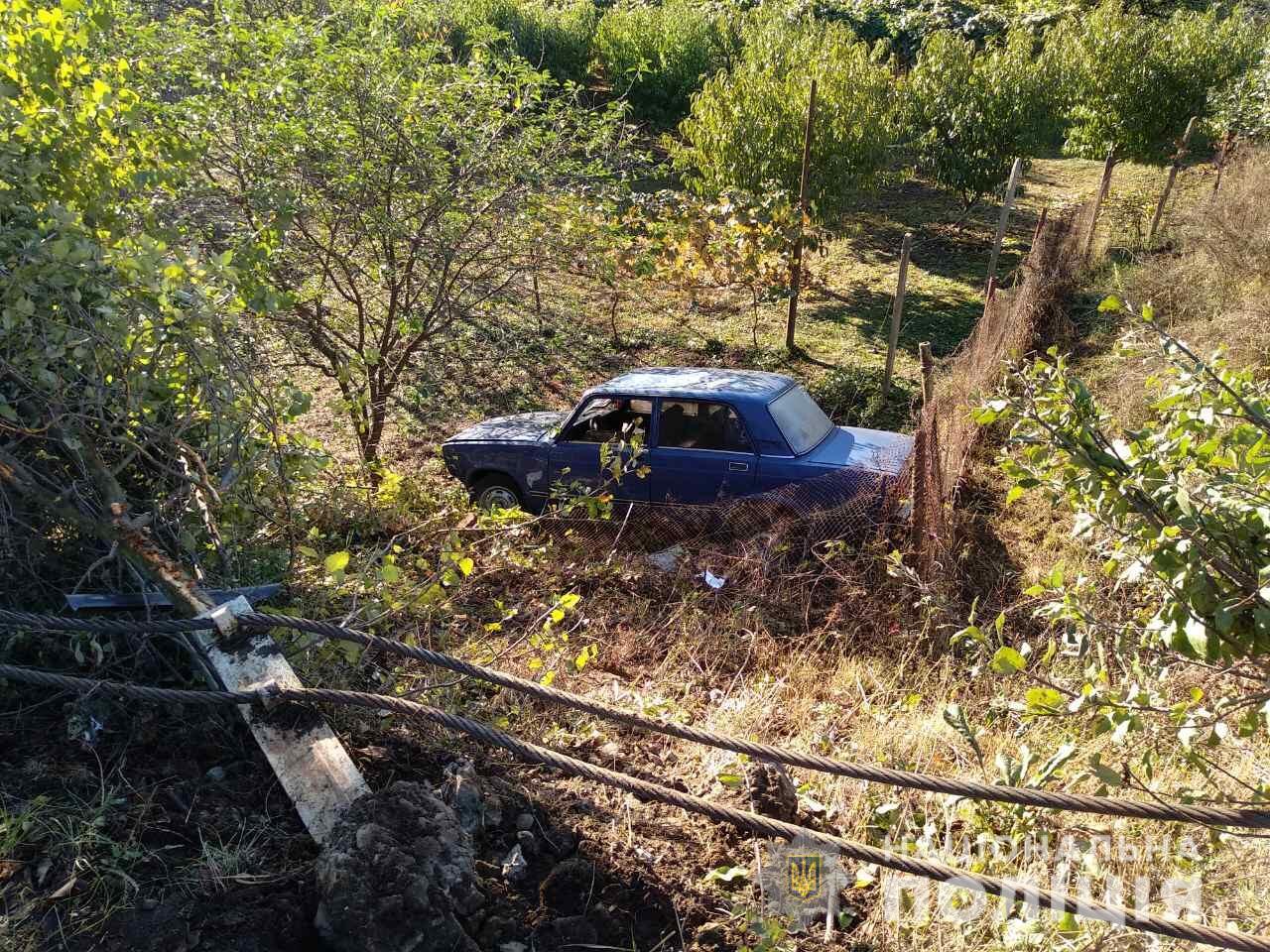 Компанія хлопців із села Вари, що на Берегівщині, вкрала машину у мешканця села Бадалово і потрапила у ДТП
