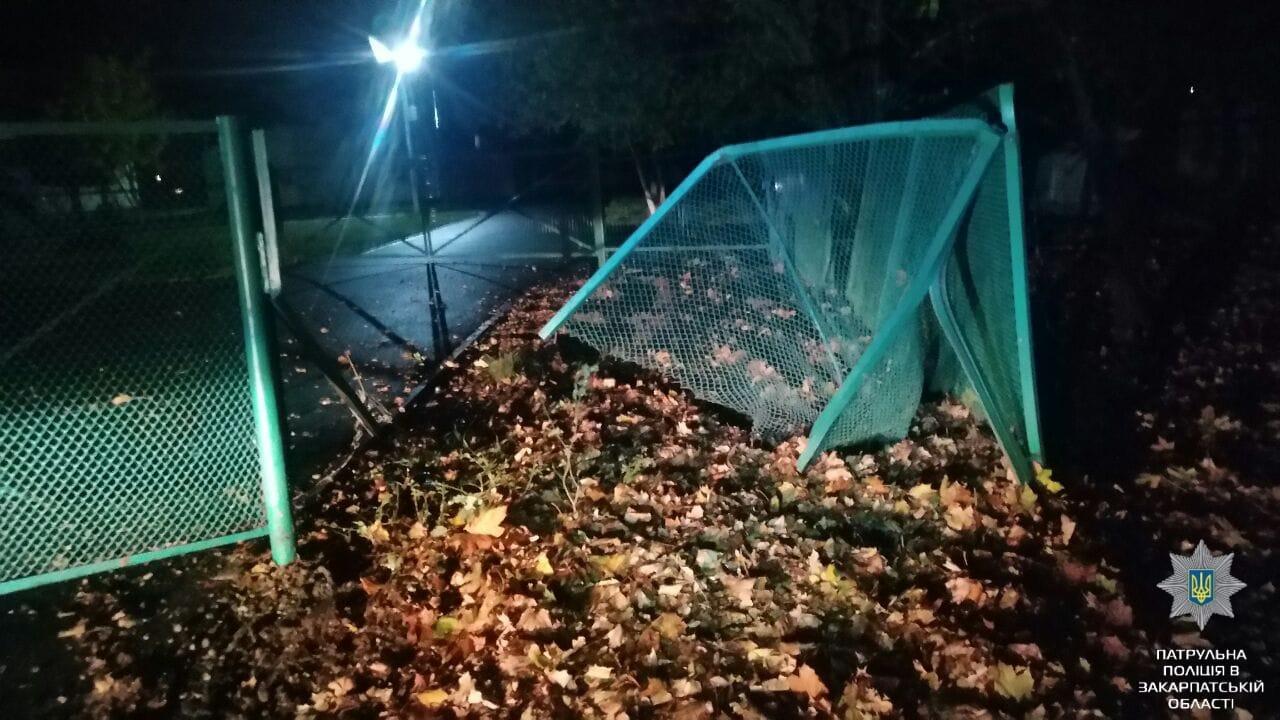 У Мукачеві на вулиці Івана Парканія сталася ДТП. Водій авто Ford Galaxy втік