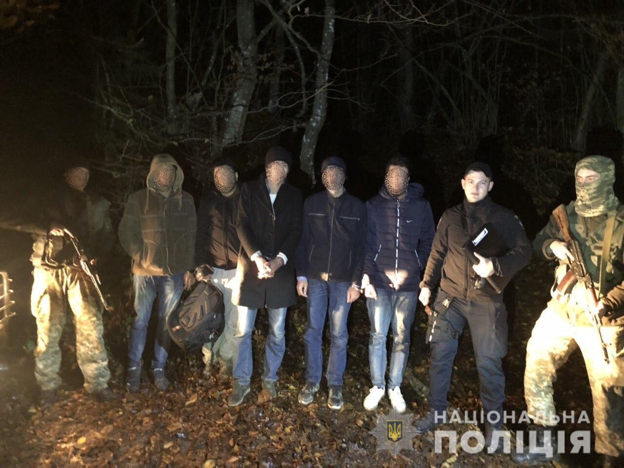 Поліція Великого Березного розпочала слідство за фактом незаконного переправлення осіб через державний кордон