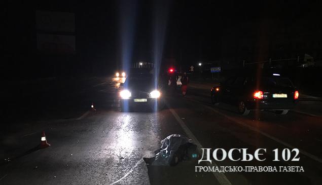 У Тернополі уродженка Закарпаття загинула у ДТП