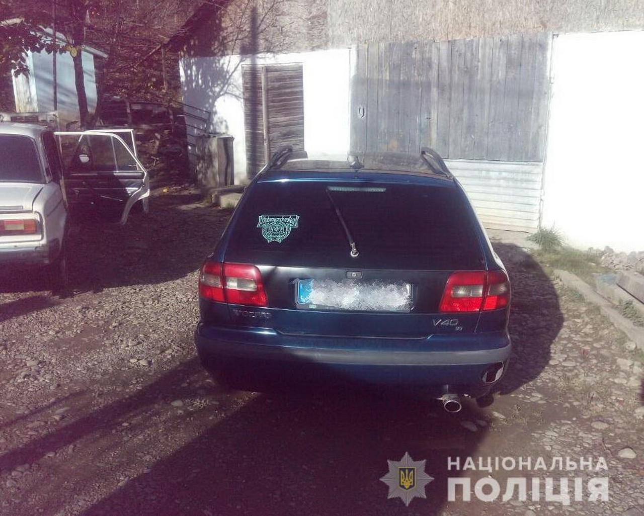 У місті Хуст, що на Закарпатті, п'яний водій тікав від поліцейських