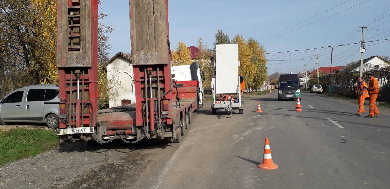 Розпочався ремонт дороги на відрізку від села Онок у бік Виноградова