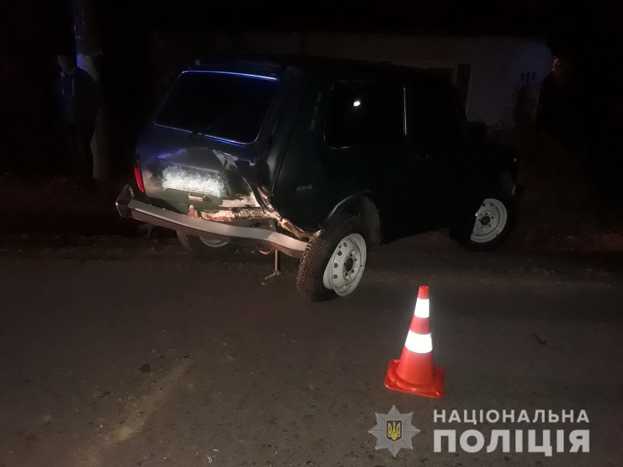 Вчора ввечері у селі Сімер Перечинського району зіткнулися дві машини – Нива і Оpеl