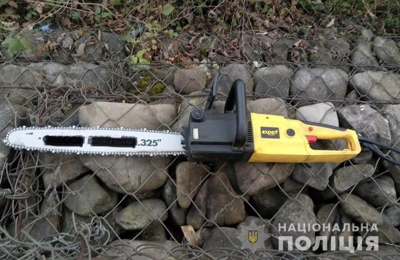 24-річний мешканець села Дубове вкрав із машини односельчанки електричну ланцюгову пилу