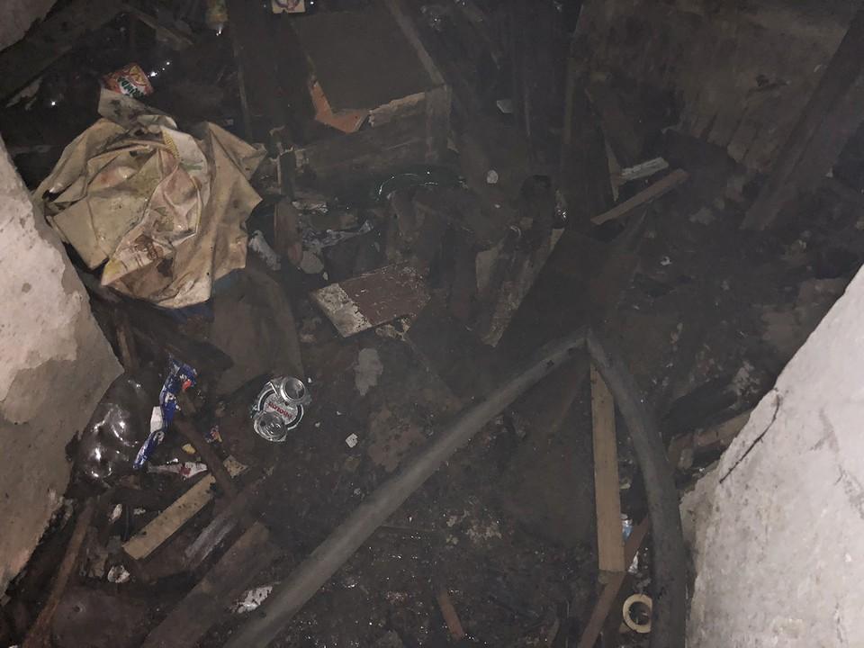В Ужгороді під час пожежі врятували чоловіка