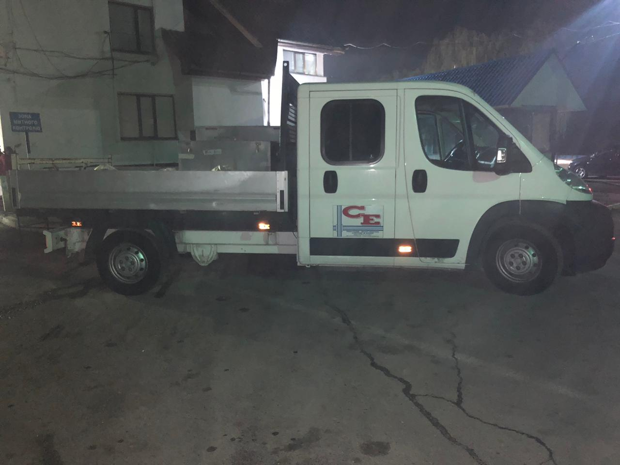 Викрадену в Бельгії вантажівку затримали прикордонники Мукачівського загону на Закарпатті