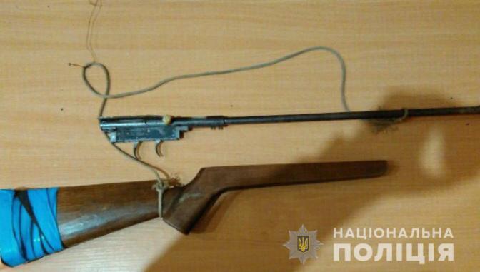 У селі Соломоново наряд прикордонної служби виявив чоловіка із саморобною рушницею