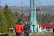 Аварійна зупинка крісельного підйомника: рятувальники провели видовищні навчання