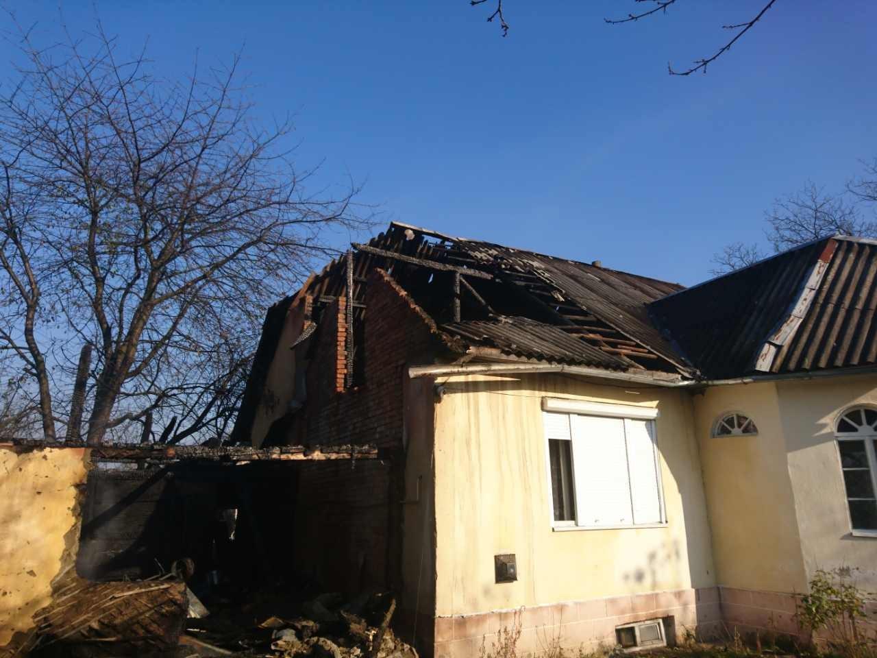 У селі Теребля, що на Тячівщини, ледь не горів живцем 24-річний хлопець