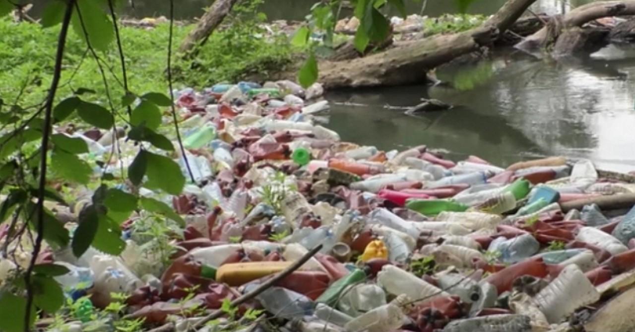 У Воловецькому районі, що на Закарпатті, гірські струмки потопають у смітті