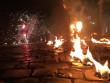 Вогняне шоу в центрі Мукачева: як це було