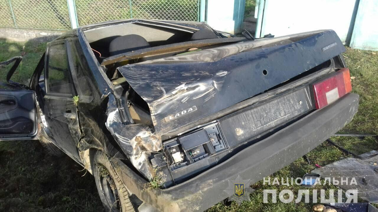 У селі Дусино, що в Свалявському районі, 38-річний п'яний водій із села Росош, скоїв ДТП на краденій машині