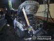 Стало відомо, кому належать машини, які підпалили вночі в Ужгороді
