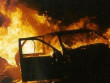 У Мукачеві на вулиці Івана Франка горіла машина