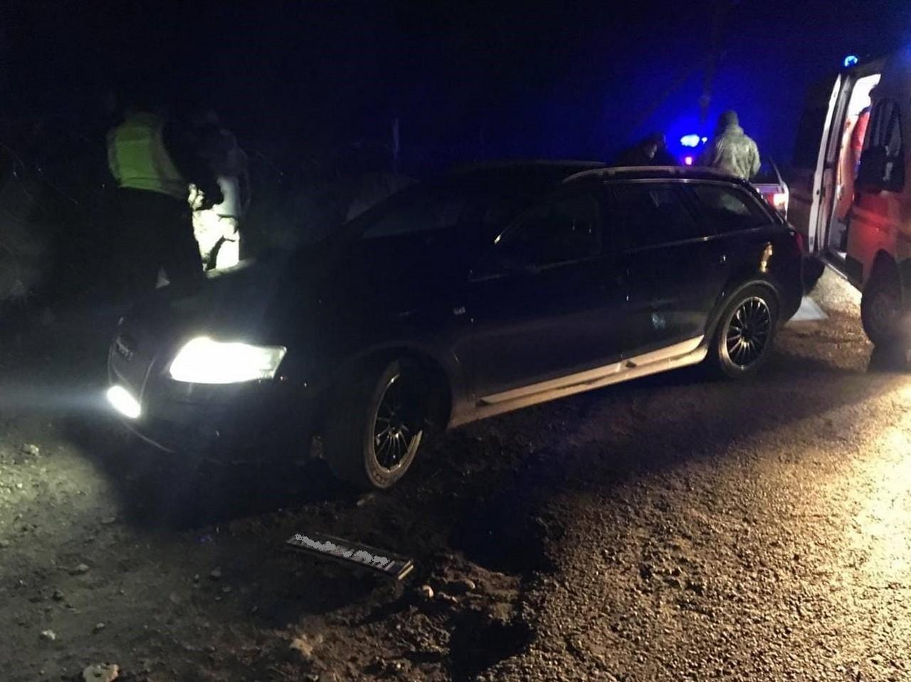 На Закарпатті вчора ввечері, 15 листопада, автомобіль наїхав на прикордонника відділу Ділове