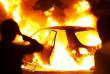 В Ужгороді вночі згоріла машина